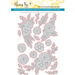 Honey Bee Stamps - Honey Cuts - Steel Craft Dies - Country Blooms