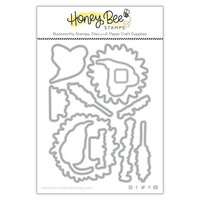 Honey Bee Stamps - Dies - Honey Cuts - Sweet Sunflowers