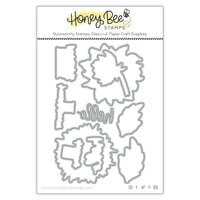 Honey Bee Stamps - Dies - Honey Cuts - Darling Dahlias