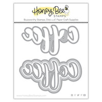 Honey Bee Stamps - Dies - Honey Cuts - Coffee Buzzword