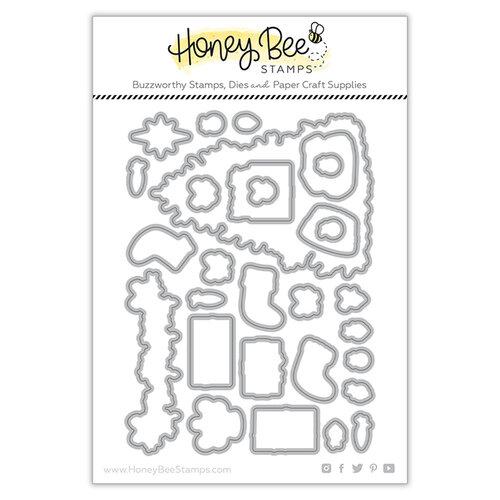 Honey Bee Stamps - Dies - Farmhouse Tree Builder