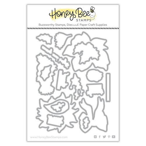 Honey Bee Stamps - Dies - Pretty Poinsettias
