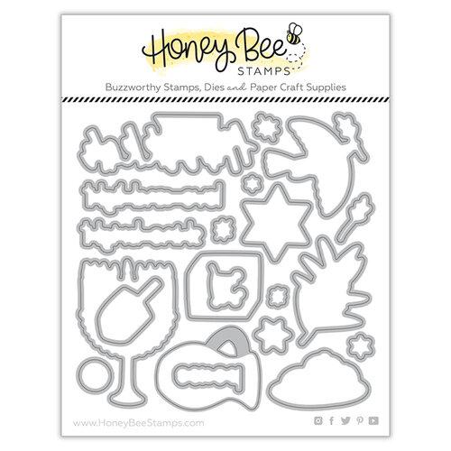 Honey Bee Stamps - Dies - Happy Hanukkah