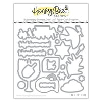 Honey Bee Stamps - Dies - Happy Hanukkah