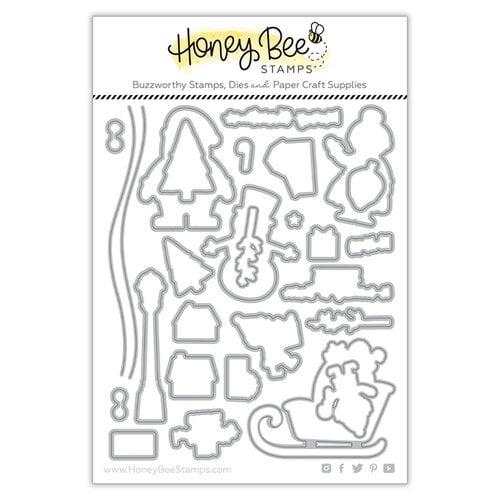 Honey Bee Stamps - Honey Cuts - Steel Craft Dies - Santa's Village