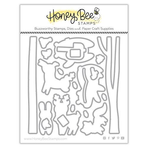 Honey Bee Stamps - Dies - Woodland Animals