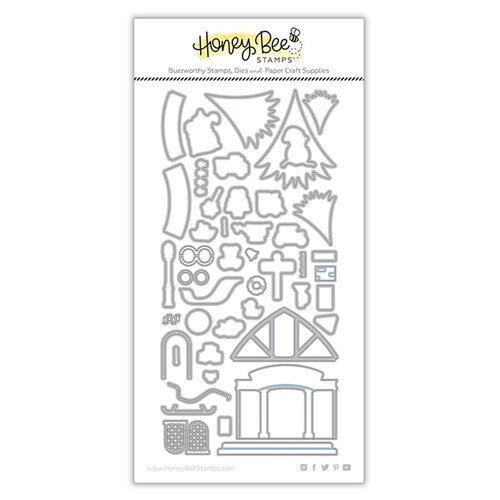 Honey Bee Stamps - Honey Cuts - Steel Craft Dies - House Builder Add-On - Toy Store