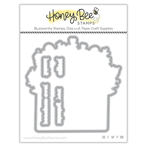 Honey Bee Stamps - Love Letters Collection - Dies - Honey Cuts - Pretty Postage