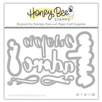 Honey Bee Stamps - Love Letters Collection - Dies - Honey Cuts - Adore Buzzword