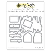 Honey Bee Stamps - Love Letters Collection - Dies - Honey Cuts - Hugs Enclosed