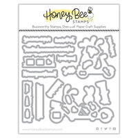 Honey Bee Stamps - Love Letters Collection - Dies - Honey Cuts - Enjoy the Ride