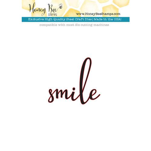 Honey Bee Stamps - Honey Cuts - Steel Craft Dies - Smile