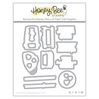 Honey Bee Stamps - Love Letters Collection - Dies - Honey Cuts - Love You S'more