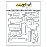 Honey Bee Stamps - Dies - Honey Cuts - Hoppy Easter