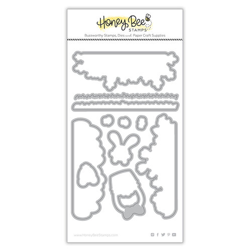 Honey Bee Stamps - Dies - Honey Cuts - Loads Of Spring