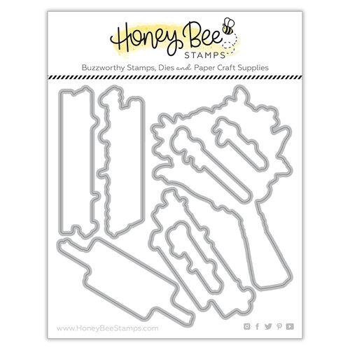 Honey Bee Stamps - Dies - Honey Cuts - Spring Joy Bouquet