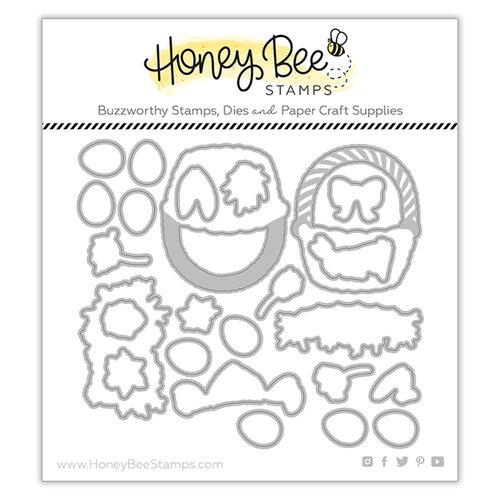 Honey Bee Stamps - Dies - Honey Cuts - Easter Basket Builder