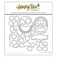 Honey Bee Stamps - Dies - Honey Cuts - Easter Basket Builder