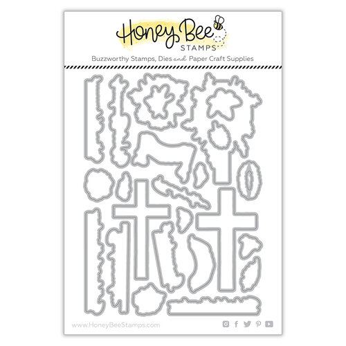 Honey Bee Stamps - Dies - Honey Cuts - Old Rugged Cross