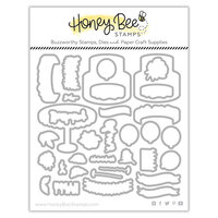 Honey Bee Stamps - Let's Celebrate Collection - Dies - Honey Cuts - Fancy Frosting