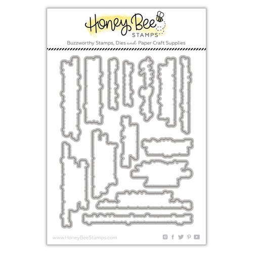 Honey Bee Stamps - Let's Celebrate Collection - Honey Cuts - Steel Craft Dies - Inside Snarky Birthday Sentiments