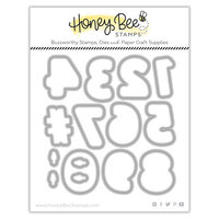 Honey Bee Stamps - Let's Celebrate Collection - Dies - Honey Cuts - Sugar Cookie Numbers