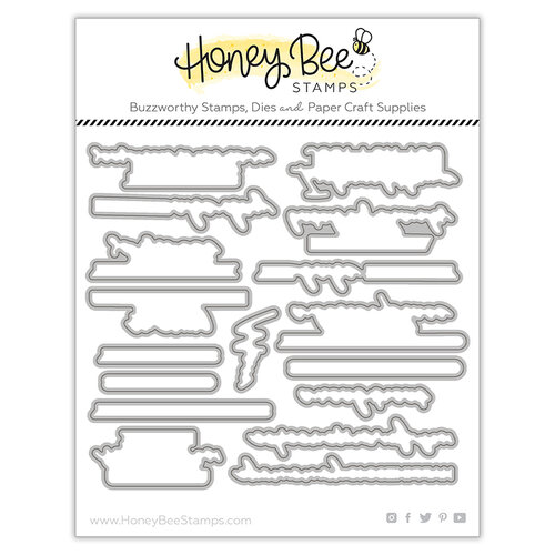 Honey Bee Stamps - Let's Celebrate Collection - Honey Cuts - Steel Craft Dies - You Bake Me Happy