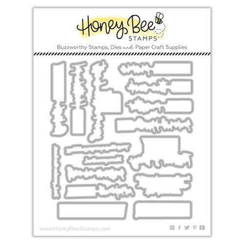 Honey Bee Stamps - Let's Celebrate Collection - Dies - Honey Cuts - Kiss The Cook