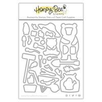 Honey Bee Stamps - Summer Stems Collection - Dies - Honey Cuts - Sandie and Sis