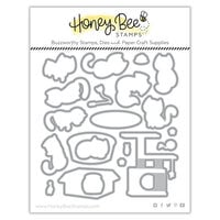 Honey Bee Stamps - Summer Stems Collection - Dies - Honey Cuts - Smitten Kittens