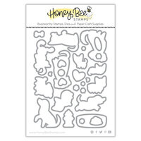 Honey Bee Stamps - Summer Stems Collection - Honey Cuts - Steel Craft Dies - Puppy Dog Tails