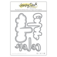 Honey Bee Stamps - Summer Stems Collection - Honey Cuts - Steel Craft Dies - Color Buzzword