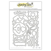 Honey Bee Stamps - Let's Celebrate Collection - Honey Cuts - Steel Craft Dies - Just BEEcause