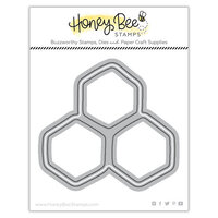 Honey Bee Stamps - Let's Celebrate Collection - Honey Cuts - Steel Craft Dies - Honeycomb