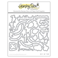 Honey Bee Stamps - Summer Stems Collection - Honey Cuts - Steel Craft Dies - Riding By
