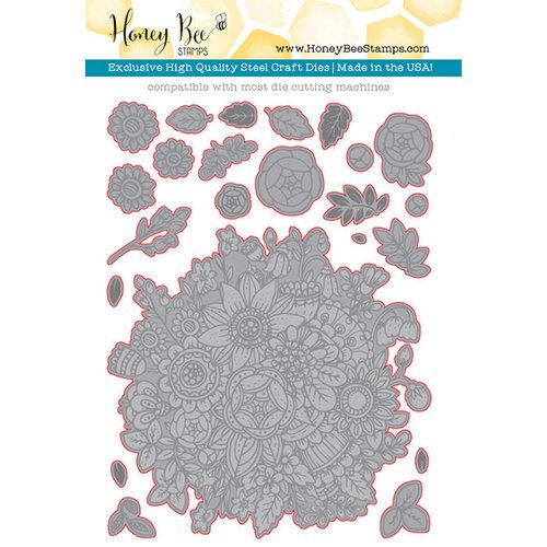 Honey Bee Stamps - Honey Cuts - Steel Craft Dies - Zen Bouquet