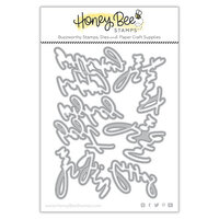 Honey Bee Stamps - Summer Stems Collection - Honey Cuts - Steel Craft Dies - Miss You Big Time
