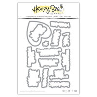 Honey Bee Stamps - Summer Stems Collection - Honey Cuts - Steel Craft Dies - High Five