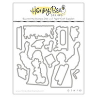 Honey Bee Stamps - Let's Celebrate Collection - Dies - Honey Cuts - Cap and Gown