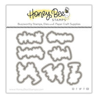 Honey Bee Stamps - Summer Stems Collection - Honey Cuts - Steel Craft Dies - Framed - Anemones