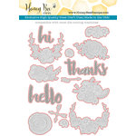Honey Bee Stamps - Honey Cuts - Steel Craft Dies - Hello Gorgeous