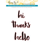 Honey Bee Stamps - Honey Cuts - Steel Craft Dies - Hello Gorgeous Words