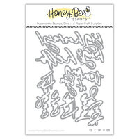 Honey Bee Stamps - Autumn Splendor Collection - Honey Cuts - Steel Craft Dies - Thinking Of You Big Time