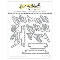 Honey Bee Stamps - Autumn Splendor Collection - Honey Cuts - Steel Craft Dies - Praying Big Time