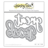 Honey Bee Stamps - Autumn Splendor Collection - Honey Cuts - Steel Craft Dies - Great Buzzword