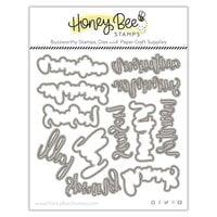 Honey Bee Stamps - Autumn Splendor Collection - Honey Cuts - Steel Craft Dies - Bitty Buzzwords - Seasons