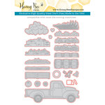 Honey Bee Stamps Honey Cuts Little Pickup Steel Craft Dies