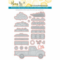 Honey Bee Stamps - Honey Cuts - Steel Craft Dies - Little Pickup