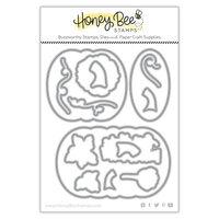 Honey Bee Stamps - Autumn Splendor Collection - Honey Cuts - Steel Craft Dies - Patchwork Pumpkin