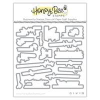 Honey Bee Stamps - Autumn Splendor Collection - Honey Cuts - Steel Craft Dies - Life Is Gouda
